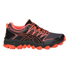 Asics Women's Fuji Trabuco 7 | Black / Flash Coral
