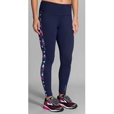 Brooks Women's Greenlight Tight | Navy / Market Deco