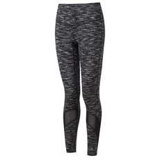Ron Hill Women's Life Spacedye Tight | Black / Bright White