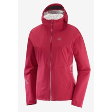 Salomon Women's Lightning WP Jacket | Rio Red