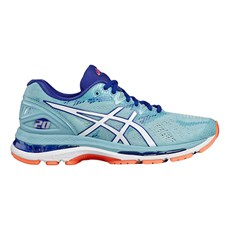 Asics Women's Nimbus 20 | Porcelain Blue / White