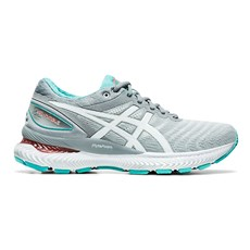 Asics Women's Nimbus 22 | Sheet Rock / White