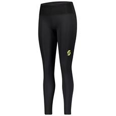 Scott Women's RC Run Full Tight | Black / Yellow