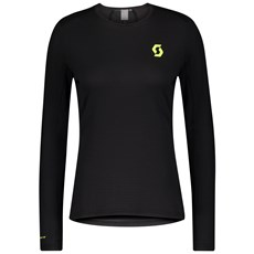 Scott Women's RC Run L/SL Shirt | Black / Yellow