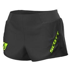 Scott Women's RC Run Split Short | Black / Yellow