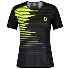 Scott Women's RC Run S/SL Shirt | Black / Yellow