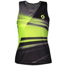 Scott Women's RC Run Tank | Black / Yellow