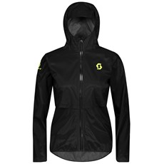Scott Women's RC Run WP Jacket | Black / Yellow