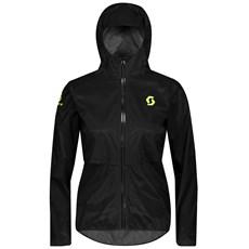 Scott Women's RC Run WP Jacket | Black / Yellow