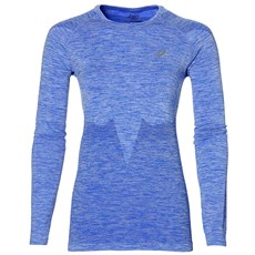 Asics Women's Seamless LS | Blue Purple