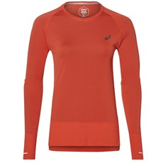 Asics Women's Seamless LS | Red Alert