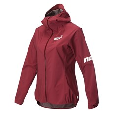 Inov-8 Women's Stormshell FZ | Dark Red