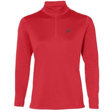 Asics Women's Silver Winter HZ Top | Red Alert