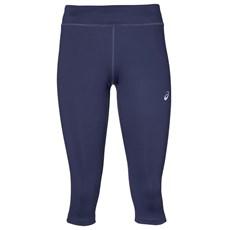 Asics Women's Silver Knee Tight | Indigo Blue