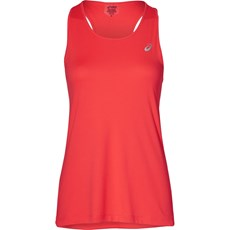 Asics Women's Silver Tank | Flash Coral