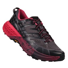 Hoka Women's Speedgoat 2 | Black / Azalea