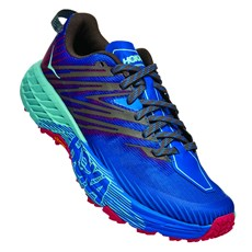 Hoka Women's Speedgoat 4 | Imperial Blue / Pink Peacock
