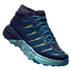 Hoka Women's Speedgoat Mid WP | Seaport / Medieval Blue