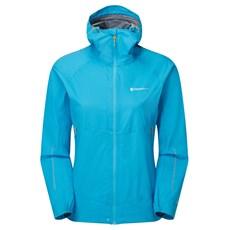 Montane Womens Spine Jacket | Cerulean Blue / Tabular Orange