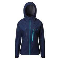 Ron Hill Women's Tech Fortify Jacket | Deep Navy / Spa Green