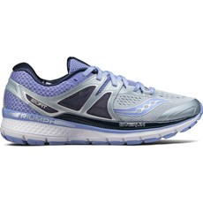 Saucony Women's Triumph ISO 3 | Grey / Purple