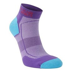 Pete Bland Ultimate Sock (2 Pack) | Aqua / Purple