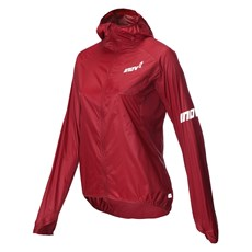 Inov-8 Women's Windshell FZ | Dark Red