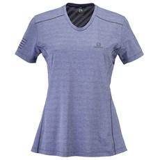 Salomon Women's XA Tee   Lilac Grey