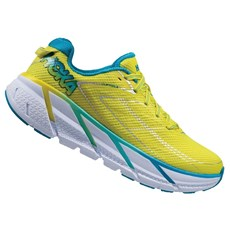 Hoka Women's Clifton 3 | Citrus / Blue Jewel