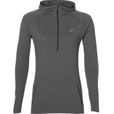 Asics Women's Core LS Hoodie | Dark Grey Heather