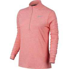 Nike Women's Element Top | Bright Melon / Heather