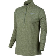 Nike Women's Element Top | Palm Green / Heather