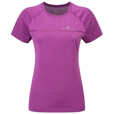 Ron Hill Women's Everyday SS Tee | Thistle Marl