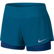 Nike Women's Flex 2 in 1 Short | Industrial Blue / Binary Blue