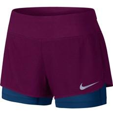 Nike Women's Flex 2 in 1 Short | True Berry / Binary Blue