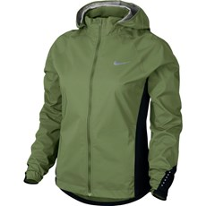 Nike Women's Hypershield Jacket | Palm Green / Black