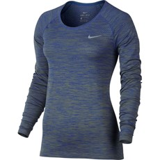 Nike Women's Knit Top | Palm Green / Paramount Blue