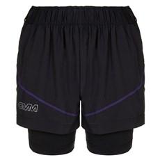 OMM Women's Pace Short | Black / Purple