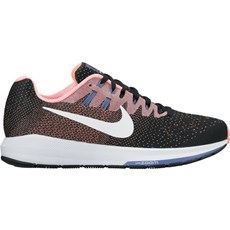 Nike Women's Structure 20 | Black / Lava Glow