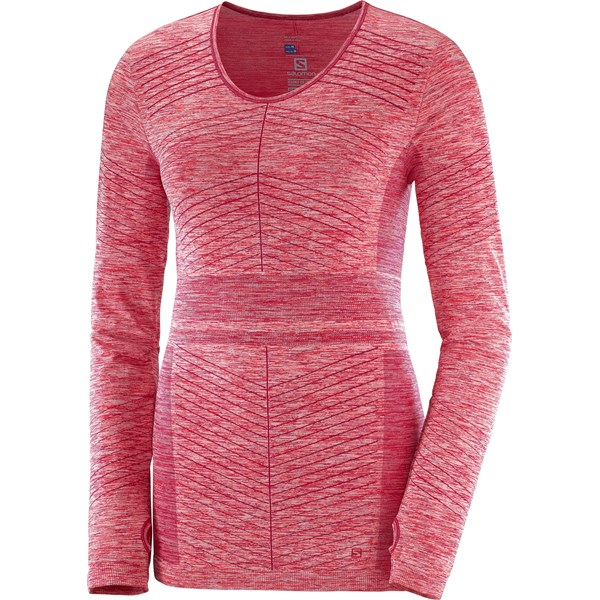 Salomon Women's Elevate Move on LS Tee