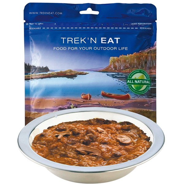 Trek'n Eat Beef Strogonoff with Rice