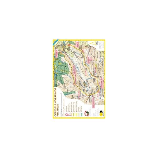 Harvey Coledale Horseshoe Race Map