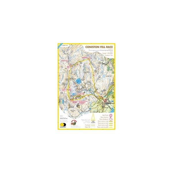 Harvey Coniston Race Map