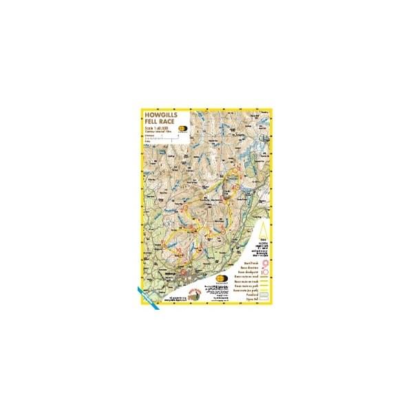 Harvey Howgills Race Map