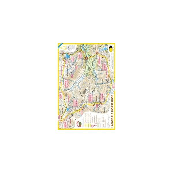Harvey Langdale Horseshoe Race Map