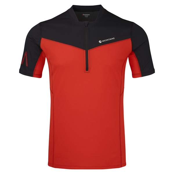 Montane Men's Dragon Zip Tee
