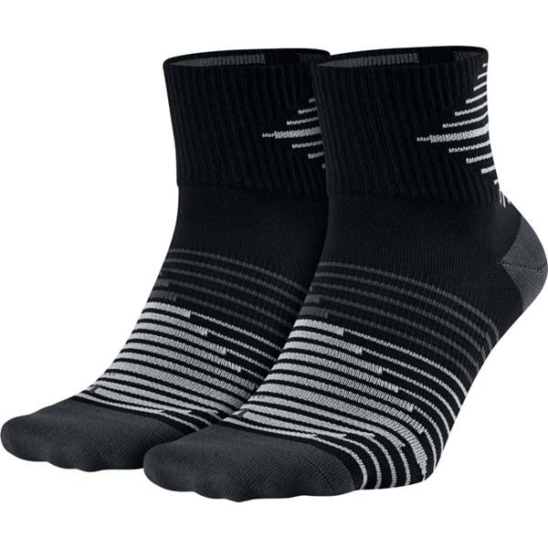 Nike Unisex Lightweight Quarter Sock (2 Pack)