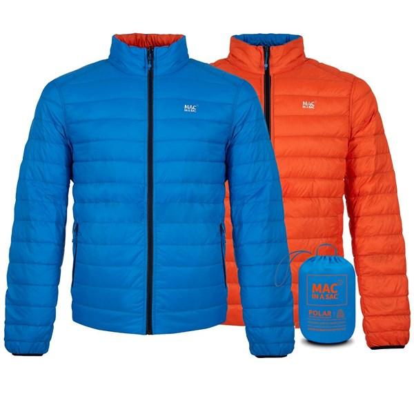 Mac in a Sac Men's Polar Down Reversible Jacket