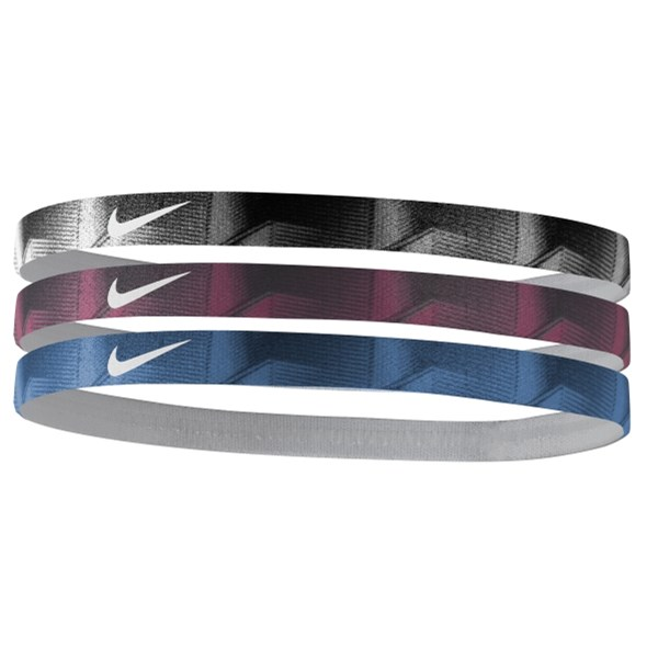 Nike Printed Headbands (3PK)