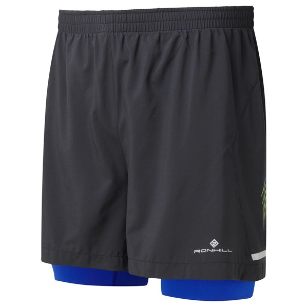 "Ron Hill Men's Stride Twin 5"" Short"